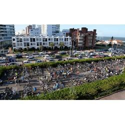 Evento deportivo IronMan en Punta del Este