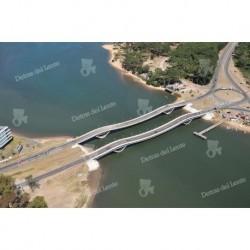 Puente de La Barra aéro