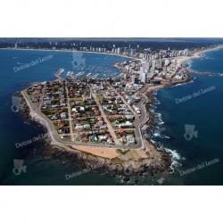 La Peninsula, vista aérea