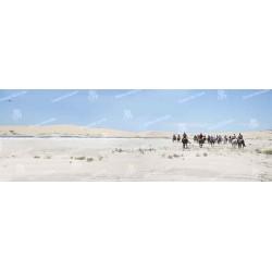 Cabo Polonio cabalgata por los medanos