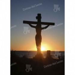 Escultura del Cristo de Lucho en Rocha